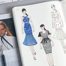 womens a4 fashion dictionary sketchbooks and fashion designers