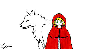 red riding hood big bad wolf doodle ly