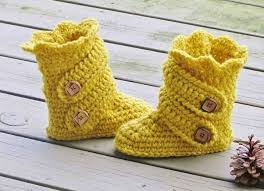womens slipper boots size 9 374 best crochet baby shoes images on knitted baby