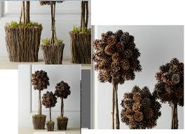 pine cones decoration ideas building and installing diy concrete