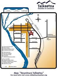 Alaska Railroad Map by Facility Use Denali Arts Council