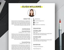 resume template and planner inserts by resumedesignco on etsy