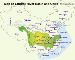 East River Ferry Map Yangtze River China Facts History Attractions With Cruise Tours