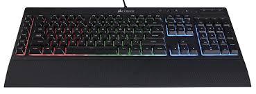 amazon com corsair gaming k55 rgb keyboard backlit rgb led