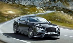 new bentley 4 door 2018 bentley continental supersports confirmed
