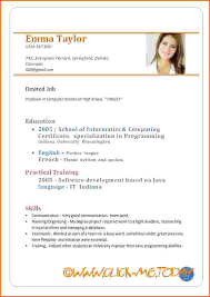 resume format pdf download ideas of sle resume in doc format about summary gallery
