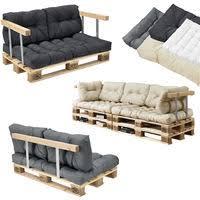 coussin pour canape coussins pour palettes kit de 3 coussin de siège coussins de