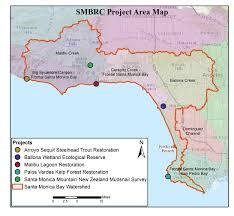 Map Of Santa Monica Santa Monica Bay Restoration Commission