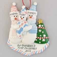 grandparent ornaments personalized grandchild personalized christmas ornament calliope designs