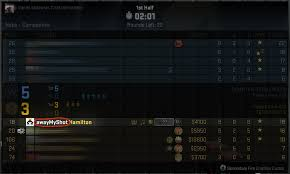 steam counter strike go changing team name that appears in stats