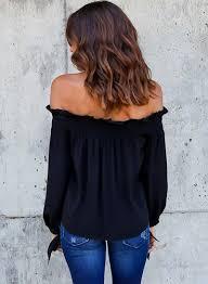 sleeve chiffon blouse fashion shoulder sleeve chiffon blouse novashe com