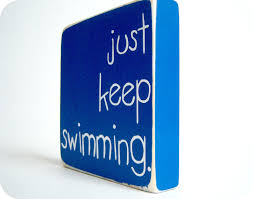 just keep swimming home decor by bubblewrappd on etsy 11 00