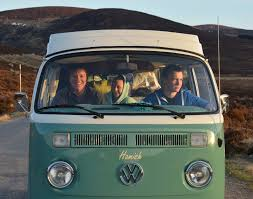 old volkswagen type 3 classic vw campervan hire royal deeside scotland deeside