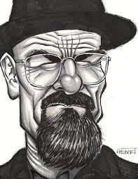 walter white caricature greghalbert com