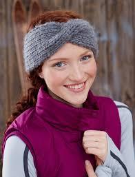 knit headband twisted headband allfreeknitting
