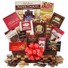 christmas chocolate christmas chocolate gift basket by gourmetgiftbaskets