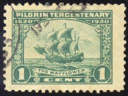 Happy Thanksgiving Pilgrims Thanksgiving Is The Time For Pilgrims U0026 The Mayflower Stamps