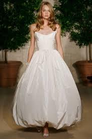 hem wedding dress oscar de la renta strapless hem ivory size 8 wedding dress