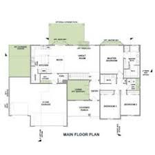 rambler house plans with basements panowa home plan rambler