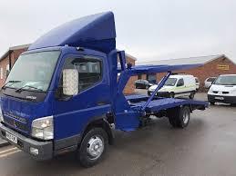 mitsubishi truck canter mitsubishi canter fuso double decker recovery truck 2010reg lez