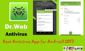free and paid antivirus for android mobile 2017 dr web