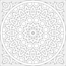 blank coloring page mandala by shala kerrigan posted on monday