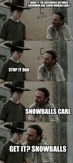 Walking Dead Rick Meme - 18 terrible rick grimes dad jokes dad jokes rick grimes and