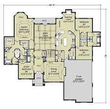 one story house plans with large kitchens 69 best house plans images on house floor plans