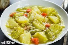 cuisine espagnole recette recette de porrusalda soupe aux poireaux cuisine espagnole