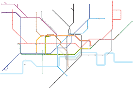 Blank Map Of London by Alternative Tube Maps Stationmasterapp Page 4