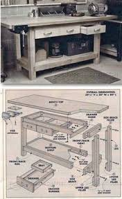 Diy Workbench Free Plans Diy Workbench Workbench Plans And Spaces by Simple Workbench Plans Workshop Solutions Projects Tips And