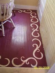 Floor Painting Ideas Wood Top 10 Stencil And Painted Rug Ideas For Wood Floors Rugs Wood