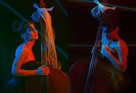 music through light double bass instrumentalist lauren pierce