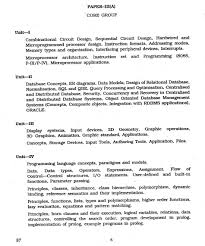 syllabus of university grants commission net of computer science