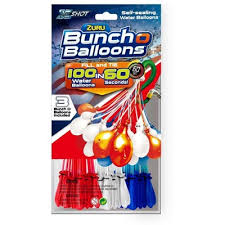 bunch balloons zuru bunch o balloons multi color pack white blue target