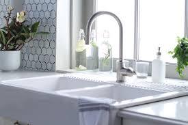 Ikea Sink With Non Ikea Faucet My Ikea Sektion Kitchen Jillian Harris