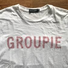 undercover print groupie tee size short sleeve
