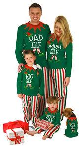 pyjamas made by elves family pjs big