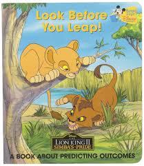 leap book predicting outcomes lion