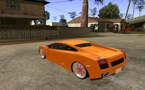 Lamborghini Gallardo White - lamborghini gallardo white u0026 pink for gta san andreas