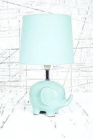 blue nursery lamp baby blue lamp shade ameego me