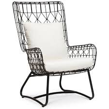 Outdoor Wingback Chair Great Outdoor Bar Setting Furniture 25 Best Ideas About Black