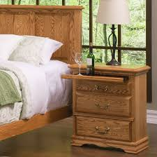 bedroom furniture 3 drawer nightstand right american made