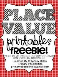 66 best place value images on pinterest kindergarten math math