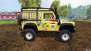 land rover racing rover defender 90 v2 0 for farming simulator 2015