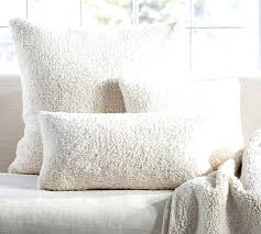 Pottery Barn Faux Fur Pillow Lamb Pillow Cover Faux Fur Ikea Idearama Co Cover Design Ideas