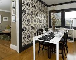 Be Bold  Types Of Accent Walls To Up Your Homes Game - Dining room accent wall