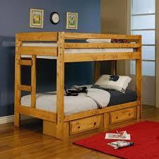 Solid Pine Bunk Beds Solid Pine Bunk Bed
