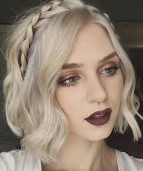 plait hairstyles for short hair 40 cute and clever updos for short hair this summer headband