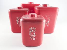 Red Kitchen Set - best 25 red kitchen canisters ideas on pinterest red canisters